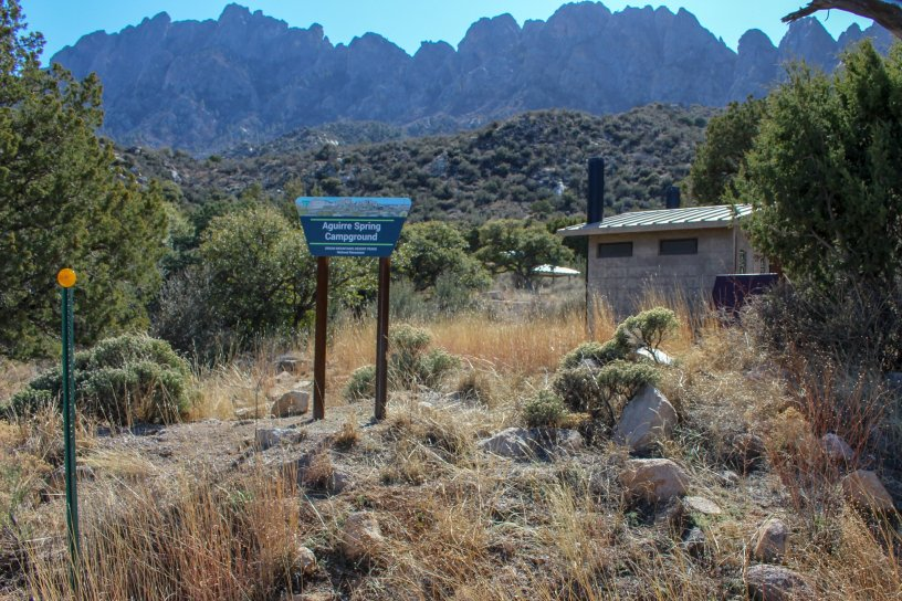 Photo: Aguirre Spring Campground in the Organ Mountain