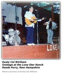 Photo: Dusty Cal Witham at the Lone Star Ranch