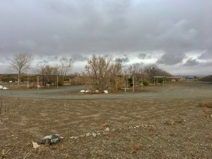 Photo: Rows of campsites at Koff Veterans Park in Lordsburg