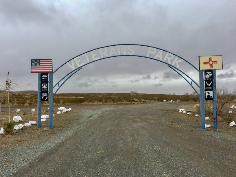 Photo: Entrance to Koff Veterans Park
