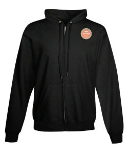 Photo: Full-Zip hoodie with Two Meander logo