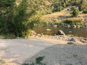 Photo: Wolcott Campground boat ramp