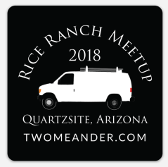 Image: Rice Ranch Meetup 2018 Sticker