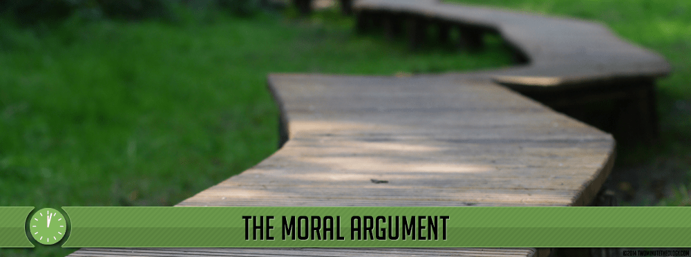God Exists: The Moral Argument