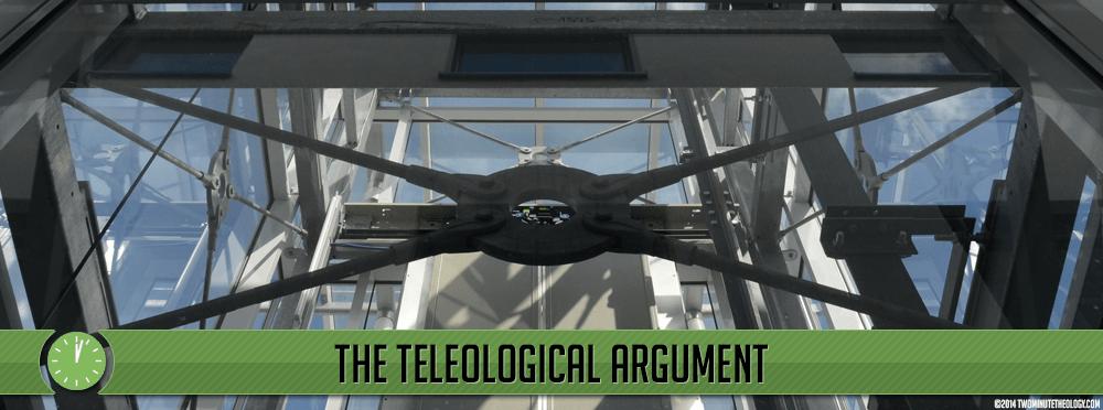 God Exists: The Teleological Argument