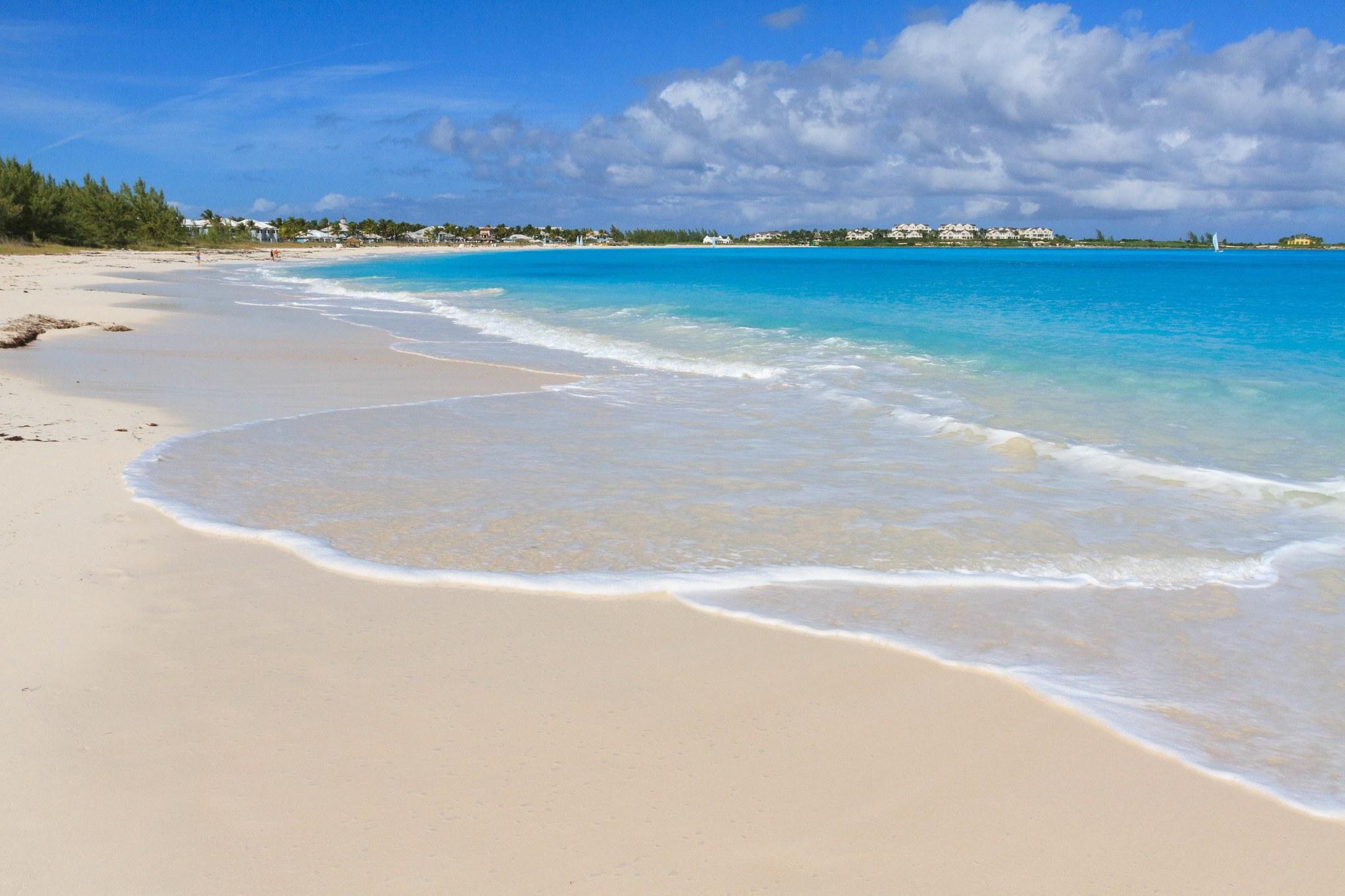 Beach at Sandals Emerald Bay