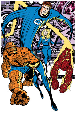 Image result for the fantastic four 1960's
