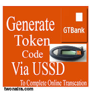 Generate GTBank Token Code