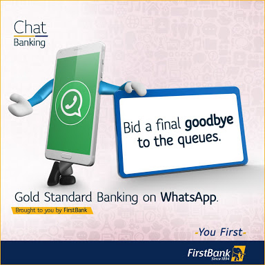 First bank of Nigeria WhatsApp number