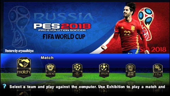 Pes 2018 iso ppsspp world cup