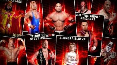 WWE 2k19 top wrestlers