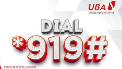 UBA Money Transfer code