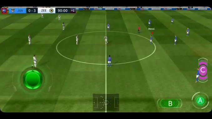 Dream league soccer gameplay