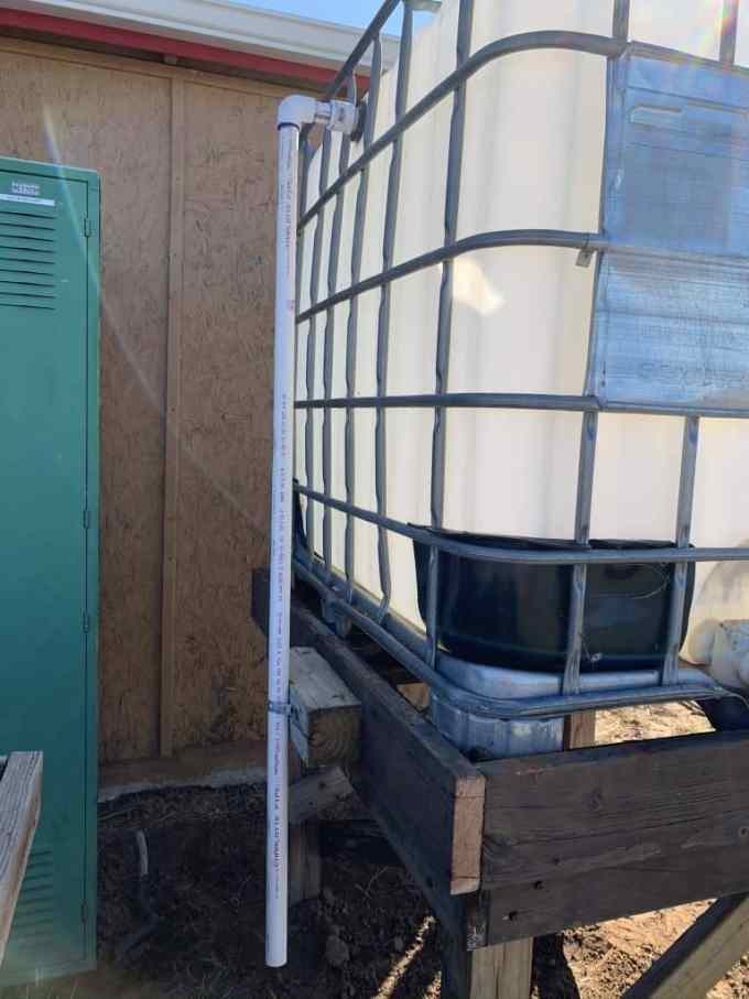 greenhouse water collection