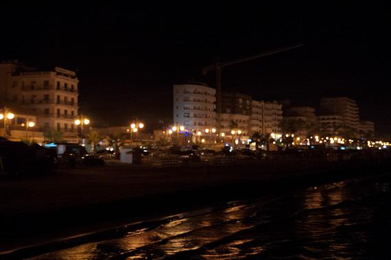 Larnaca, Cyprus Waterfront at Night