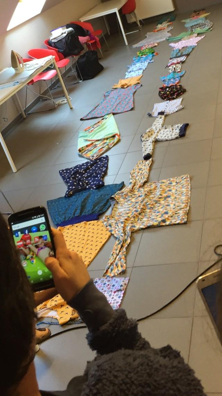 ketting Naait Club-weekend - Deel 2: onze naaiprojecten