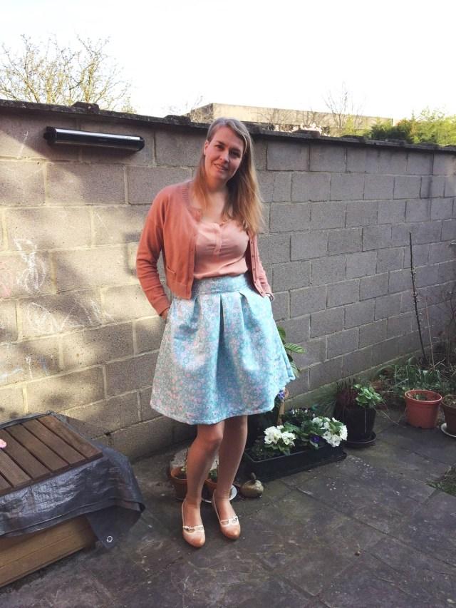 Rachel-solo Twinning met een Rachel rok: een lente-naaiprojectje