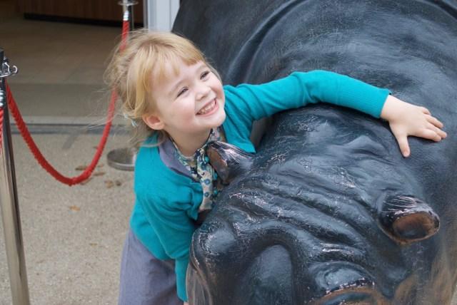 nijlpaardknuffel De Zoo van Antwerpen - by day deze keer