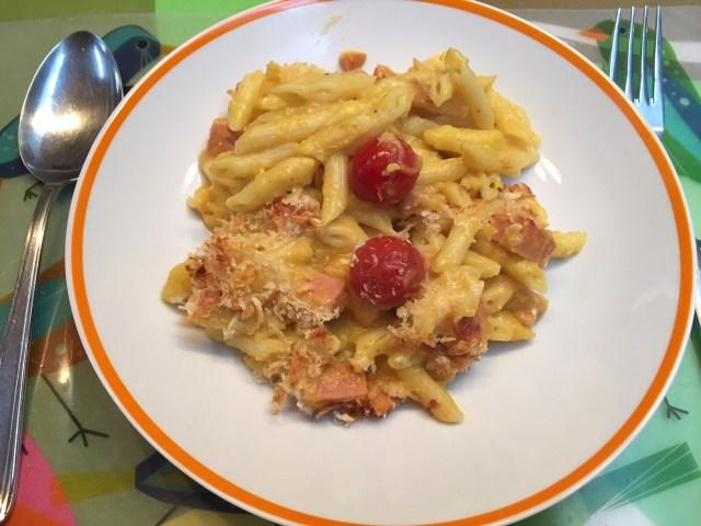bord-pompoenmacaroni Snel, gezond & lekker