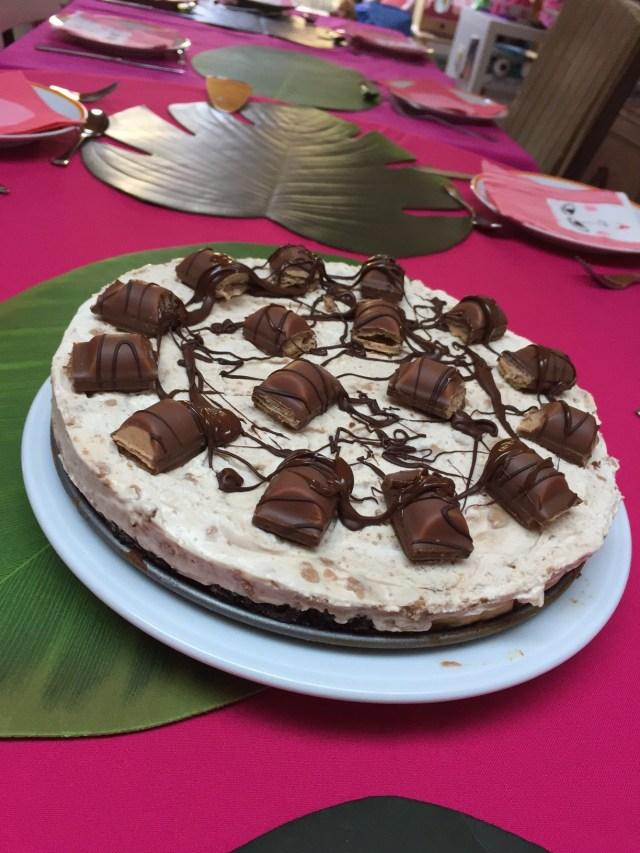 kinderbueno-cheesecake Philadelphia Cheesecake party