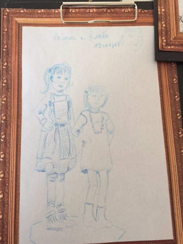 tekening-Johanna Kunstendag voor Kinderen: Museum voor Schone Kunsten in Gent