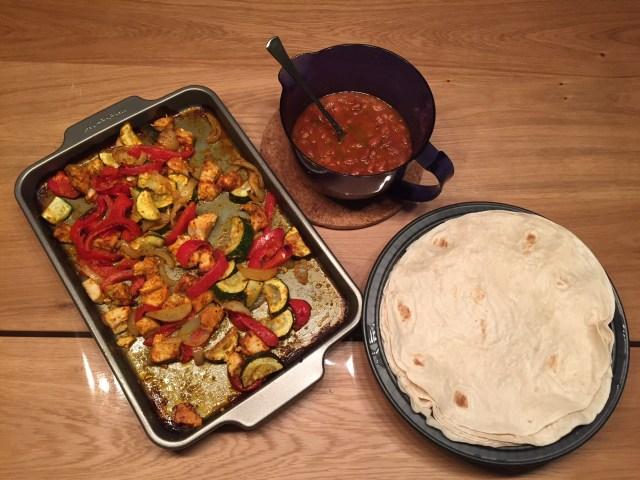 Tray-bake-Fajita Snel, gezond & lekker: Tex-mex cuisine
