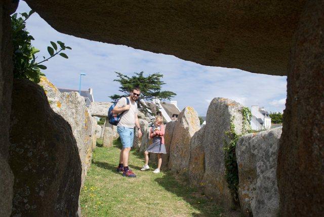 Saint-Guénolé-Musée-de-la-Préhistoire La douce France: op reis naar Bretagne met een kind