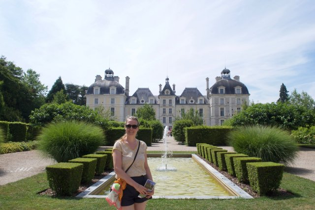 Cheverny De kastelen van de Loire: op reis met een kind
