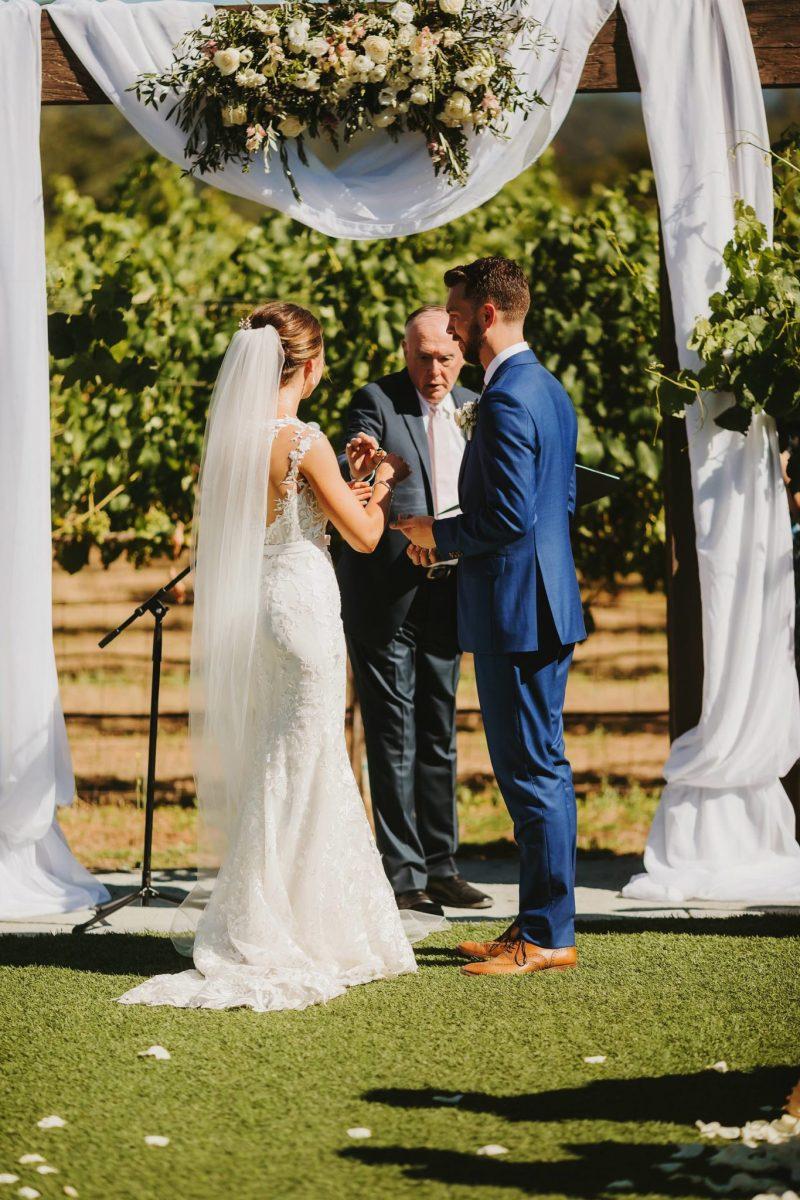 Sycamore Creek Vineyards Wedding Morgan Hill California