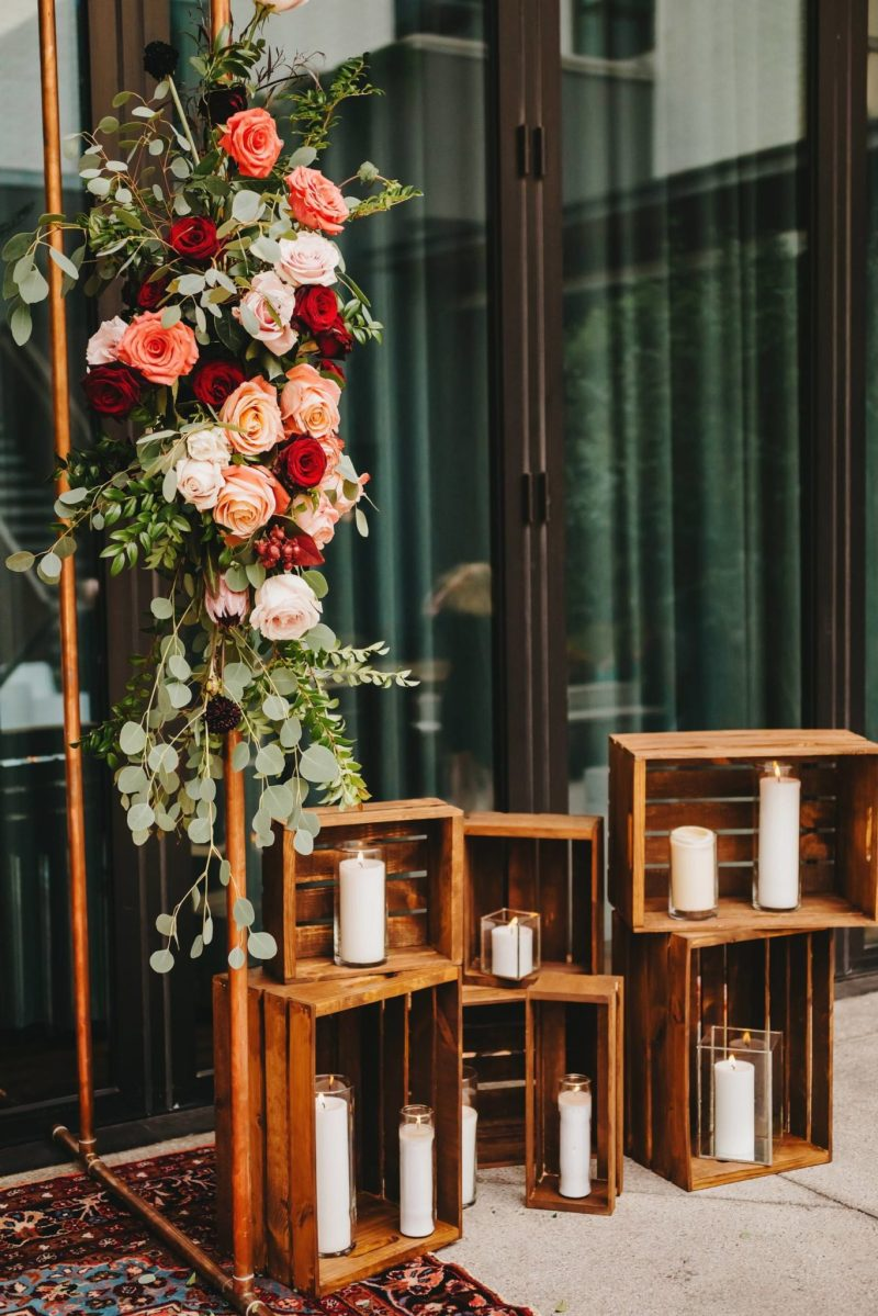 austin wedding styling florals