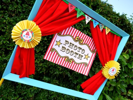 big top circus birthday carnival party cake cupcake clown animal ring ideas party printables supplies partyware party paperie stationery0117