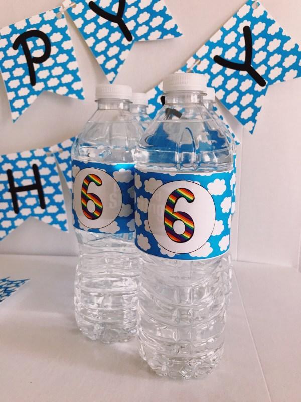 Unicorn Water Bottle Wrapper