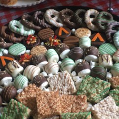 Treat tray from Ronda's Sweet Treats