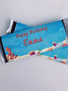 Under the Sea Large Candy Bar Wrapper