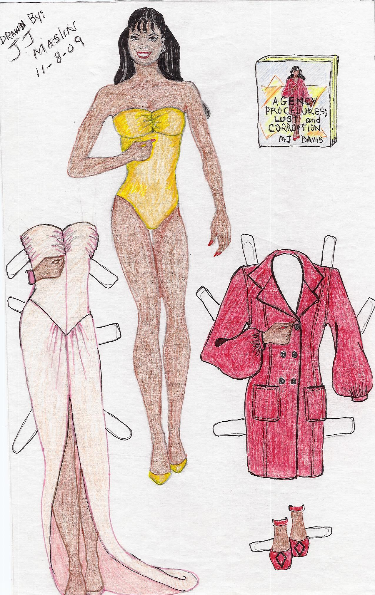 New Paper doll 1-09-10