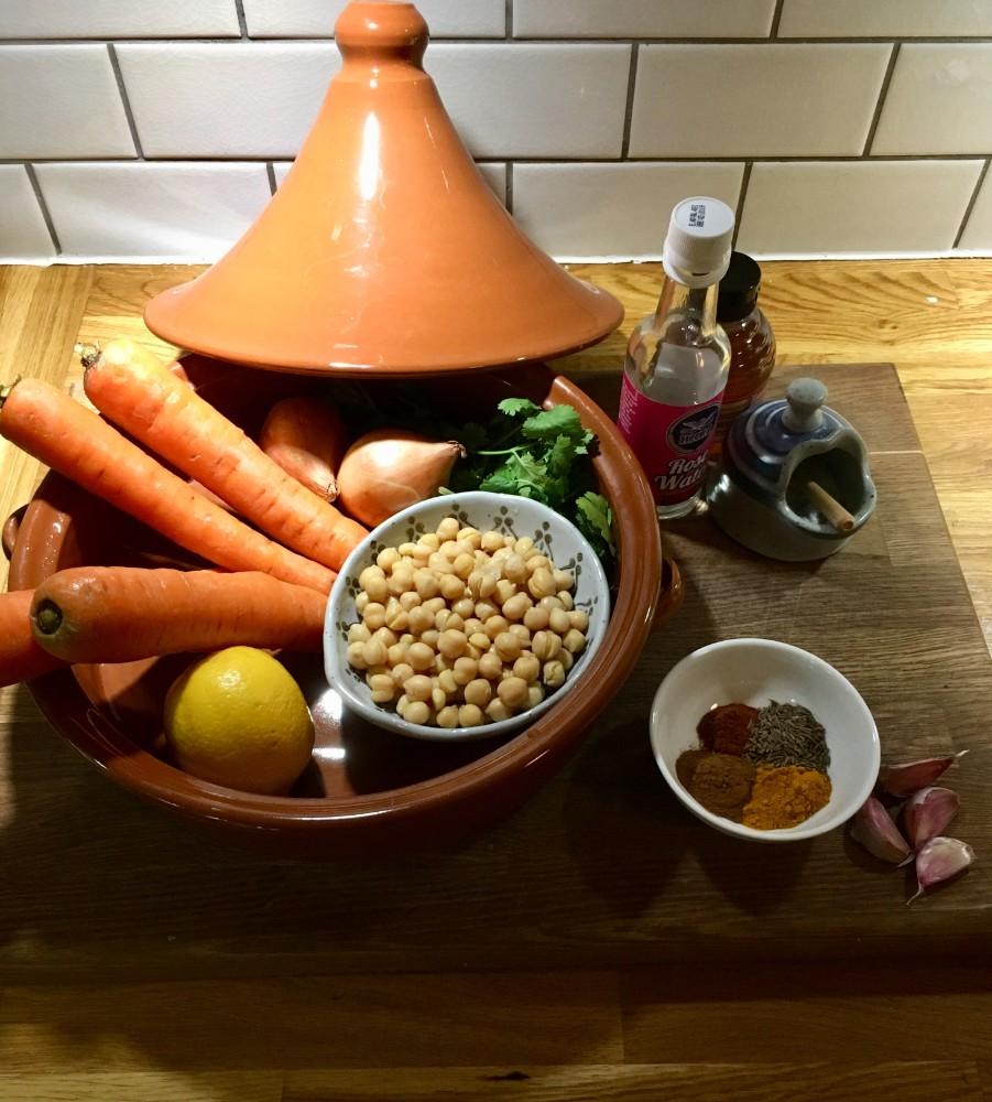 simple carrot tagine recipe