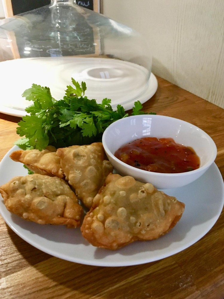 Vegetable Samosa Ideas- Pea, Leek and Mint Recipe