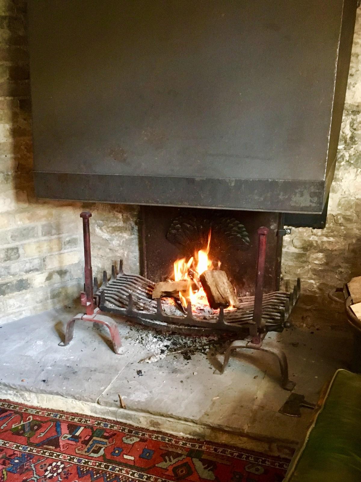 Open fire, Red Lion Soham, Cambridgeshire pub