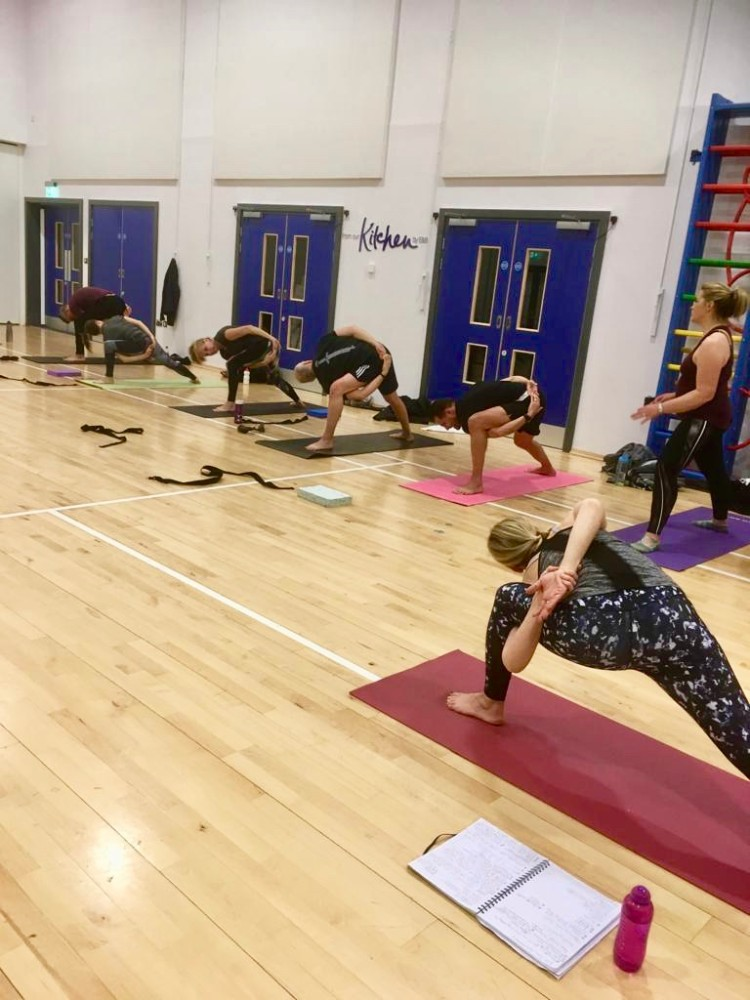 Yoga classes in Huntingdon- RNG Yoga