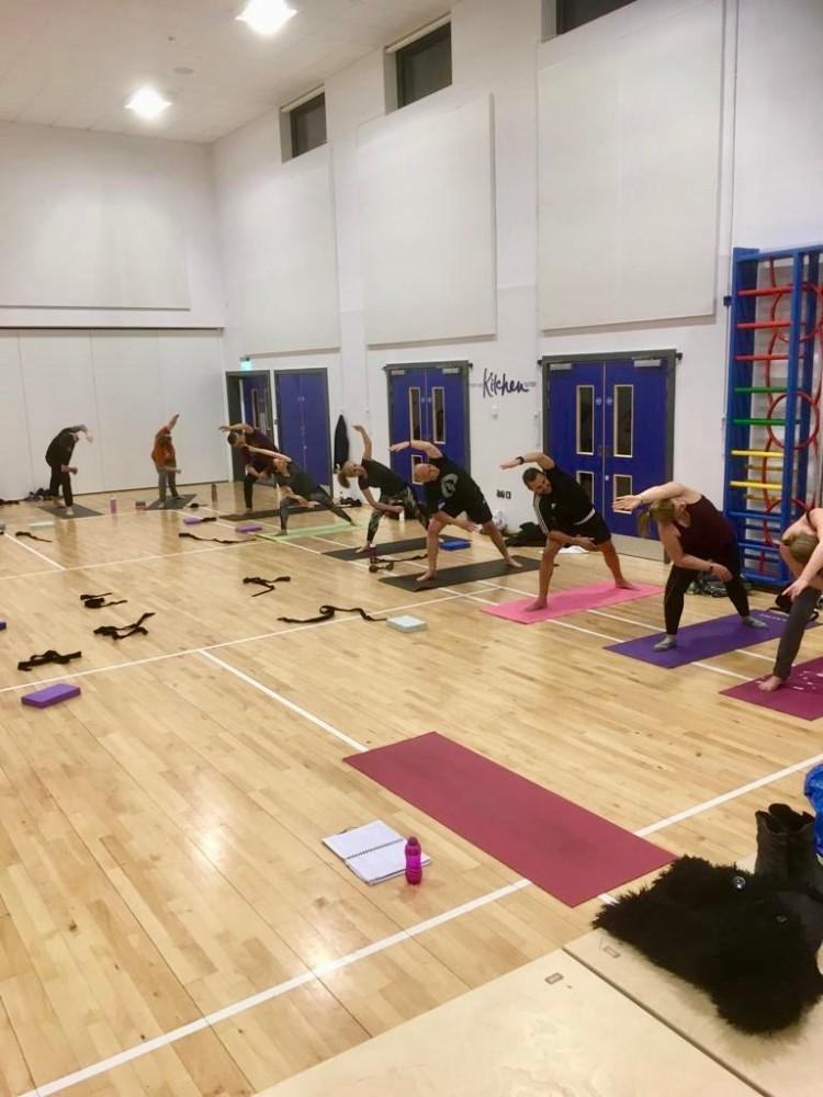 yoga in Huntingdonshire