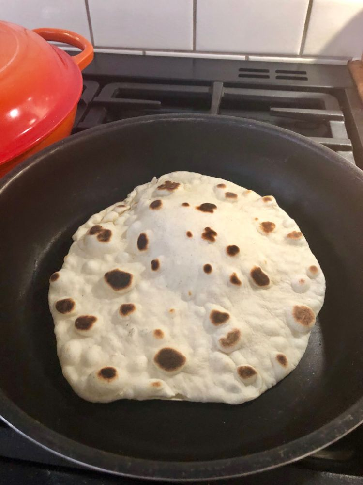 Homemade Flatbread Recipe