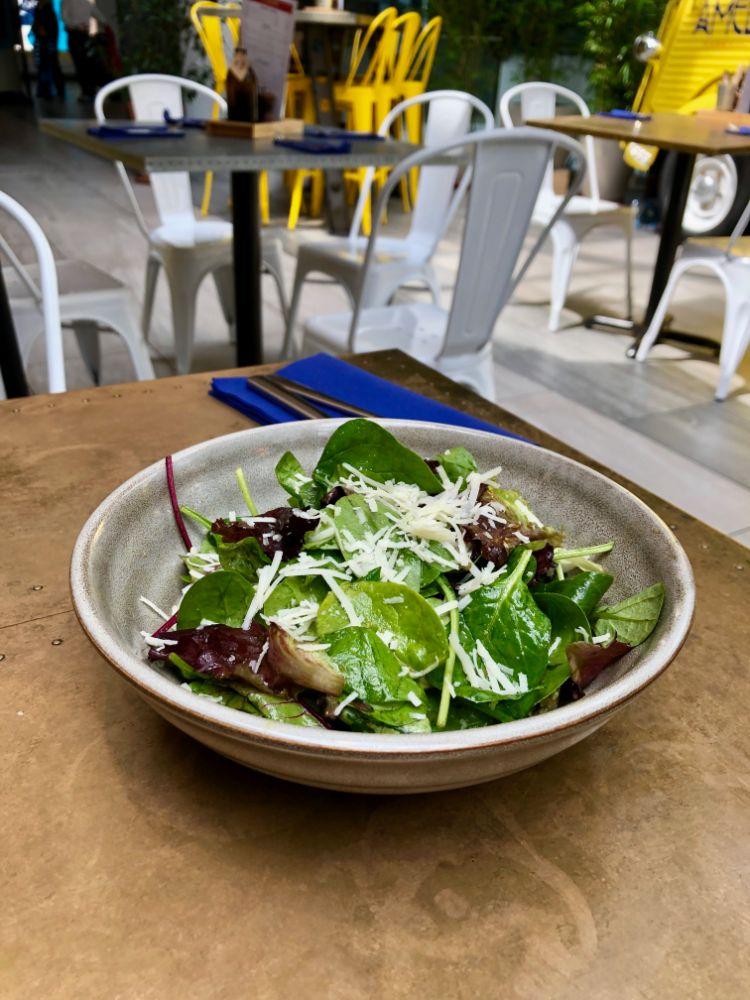 salad at Amelie