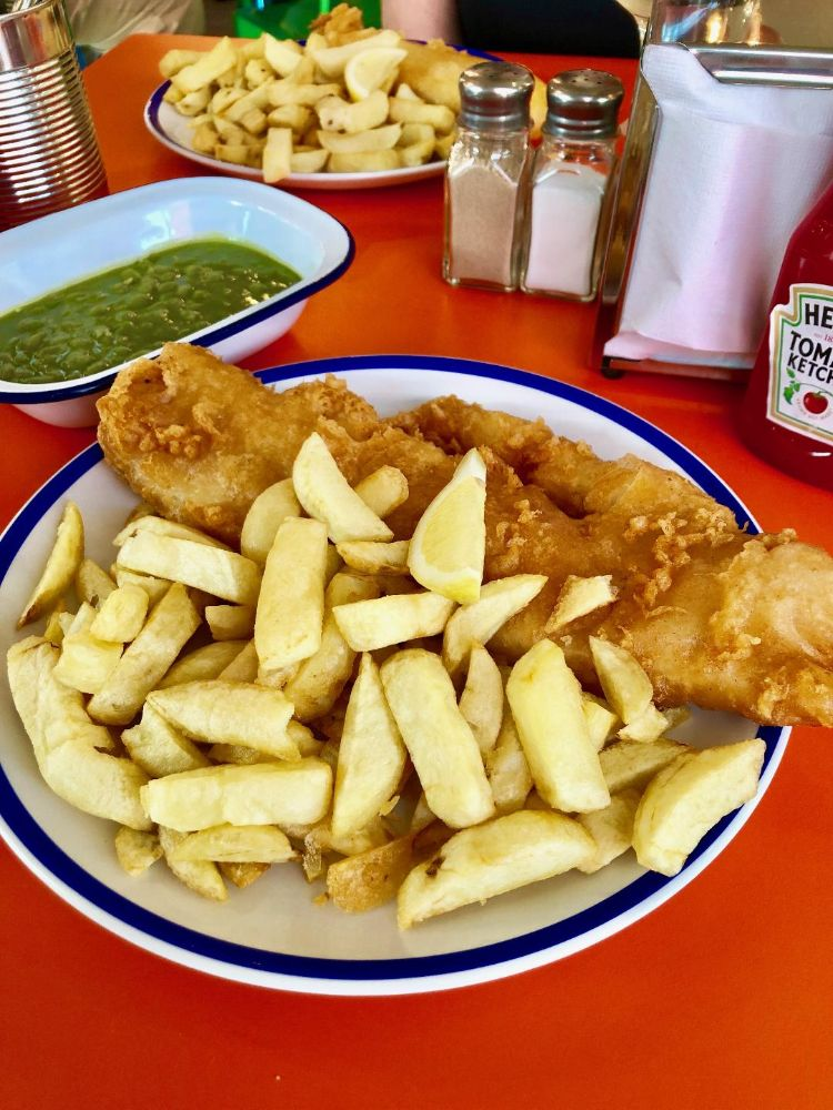 Fish and Chips in St. Ives- Eric's Review