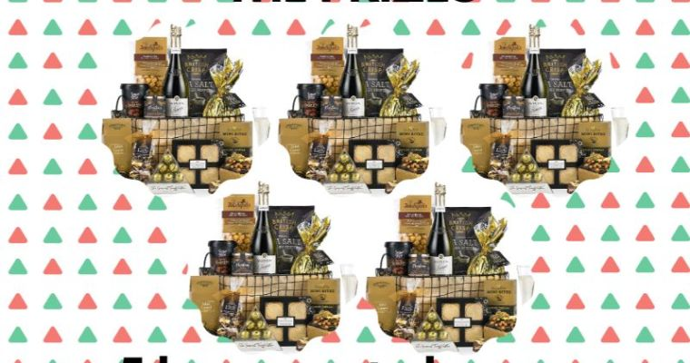 Win one of Five Fabulous Christmas Hampers worth £65!