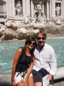 A photo stop at the Trevi Fountain