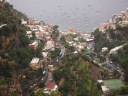 Views of Positano from the village of Montepertuso.