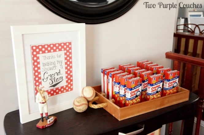 Baseball Baby Shower Theme
