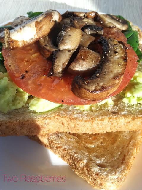 veggie sandwhich