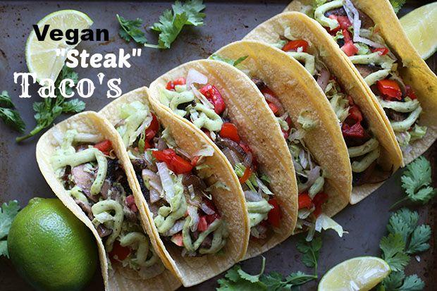 Vegan Steak Tacos
