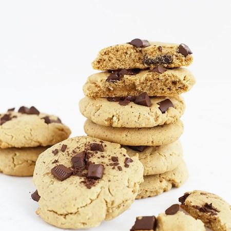 Classic Chocolate Chip Cookies Vegan Gluten Free